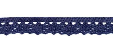 Kant donker blauw 11 mm (10 m)