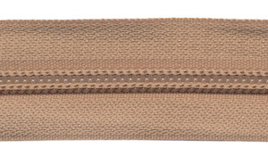 Nylon rits beige/zandkleurig #573 maat 3 (ca. 5 m)