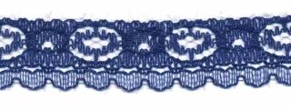 Kant donker blauw 17 mm (ca. 32 m)