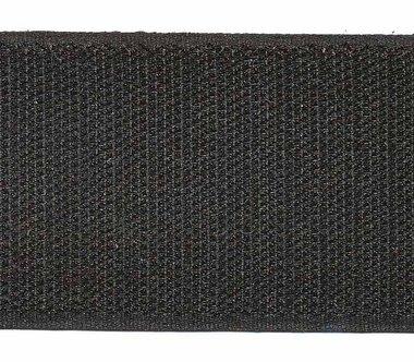 Klittenband 50 mm zwart (rol van ca. 18 m)