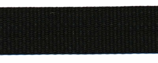 Tassenband 20 mm zwart STEVIG (50 m)
