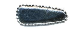 Haarkniphoesje zilver 3 cm (ca. 20 stuks)
