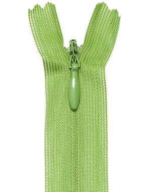 Blinde rits appel groen #513 22,5 cm (5 stuks)