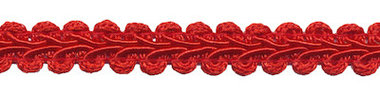 Galonband rood 9 mm (ca. 16 meter)
