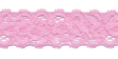 Elastisch kant licht roze ca. 22 mm (ca. 10 m)