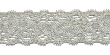 Elastisch kant grijs ca. 22 mm (ca. 10 m)