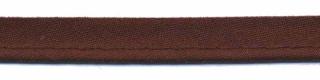 Donker bruin piping-/paspelband STANDAARD - 2 mm koord (ca. 10 meter)