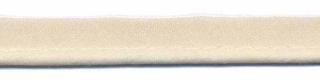 Creme piping-/paspelband STANDAARD - 2 mm koord (ca. 10 meter)