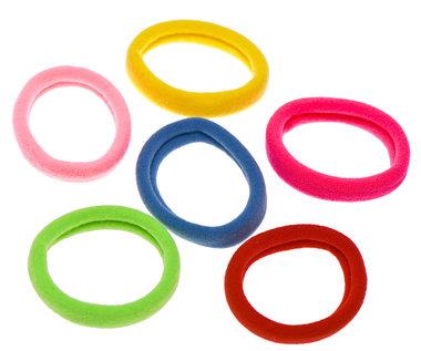 Haarelastiek endless fresh mix kleuren 4 cm (ca. 50 stuks)