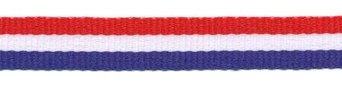 Rood-wit-blauw 'Nederlandse vlag' grosgrain/ribsband 10 mm (ca. 130 m)