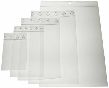 Gripzakken 120 x 180 mm (ca. 100 stuks)