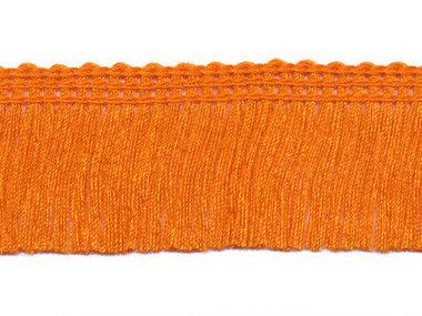Franjeband oranje ca. 30 mm (ca. 22 meter)