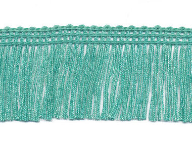 Franjeband appelblauwzeegroen ca. 30 mm (ca. 22 meter)