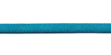Satijnkoord licht-elastisch zeegroen/petrol 4x2 mm (ca. 10 m)