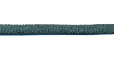 Satijnkoord licht-elastisch flessengroen 4x2 mm (ca. 10 m)