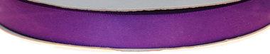 Paars dubbelzijdig satijnband 13 mm (ca. 30 m)