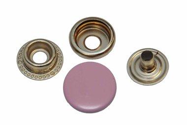 Drukker lichtroze 15 mm, type 4-7 (ca. 25 stuks)