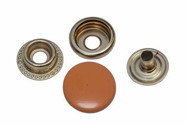 Drukker zalm/oranje 15 mm, type 4-7 (ca. 25 stuks)