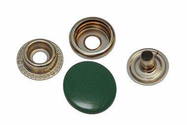 Drukker donker groen 15 mm, type 4-7 (ca. 25 stuks)