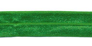 Grasgroen #042 elastisch biaisband 20 mm (ca. 25 m)