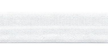 Gebroken wit #101 elastisch biaisband 20 mm (ca. 25 m)