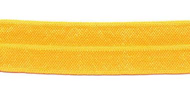 Warm geel #098 elastisch biaisband 20 mm (ca. 25 m)