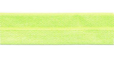 NEON Geel #002 elastisch biaisband 20 mm (ca. 25 m)