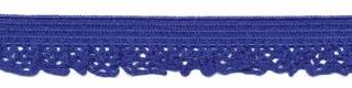 Elastisch kant kobalt blauw 12 mm (ca. 25 m)