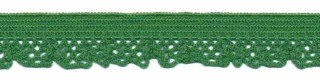 Elastisch kant groen 12 mm (ca. 25 m)