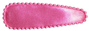 Haarkniphoesje roze satijn effen 5 cm (ca. 100 stuks)