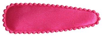 Haarkniphoesje satijn hardroze 5 cm (ca. 100 stuks)