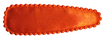 Haarkniphoesje oranje satijn effen 5 cm (ca. 100 stuks)
