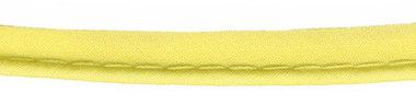 Zacht geel piping-/paspelband STANDAARD - 2 mm koord (ca. 10 meter)