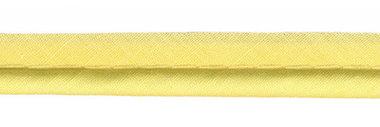 Zacht geel piping-/paspelband DIK - 4 mm koord (ca. 10 meter)