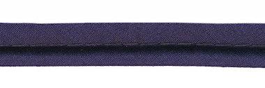 Donker blauw piping-/paspelband DIK - 4 mm koord (ca. 10 meter)