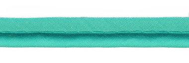 Appelblauwzeegroen piping-/paspelband DIK - 4 mm koord (ca. 10 meter)