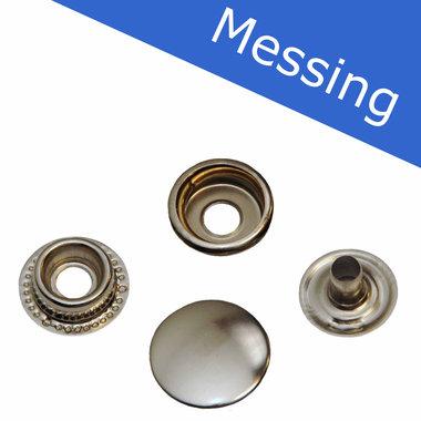 MESSING Drukker nikkelkleurig 15 mm, type 4-7 (ca. 25 stuks)