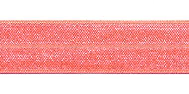 Peach #003 elastisch biaisband 20 mm (ca. 25 m)