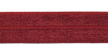 Bordeaux #015 elastisch biaisband 20 mm (ca. 25 m)