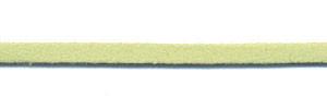 Imitatie suede veter lime 3 mm (ca. 10 m)