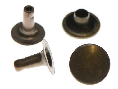 Holniet bronskleurig staal 9 mm (ca. 1000 sets)