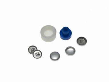 Stofknoop DIY 13 mm (ca. 144 stuks)