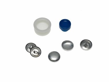 Stofknoop DIY 15 mm (ca. 144 stuks)