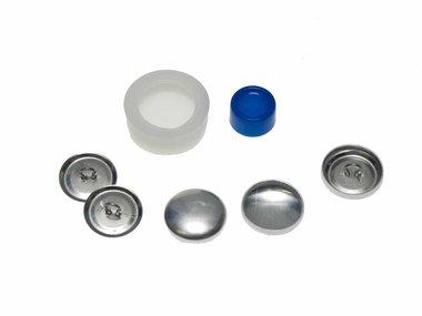 Stofknoop DIY 19 mm (ca. 144 stuks)