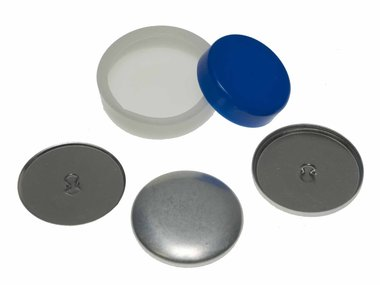 Stofknoop DIY 38 mm (ca. 144 stuks)