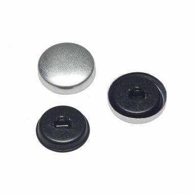 Stofknoop met oog 16 mm (ca. 100 stuks)