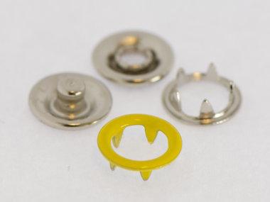 Babydrukker geel 9 mm, type #122 (ca. 100 stuks)