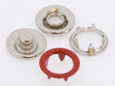 Babydrukker rood 9 mm, type #122 (ca. 100 stuks)