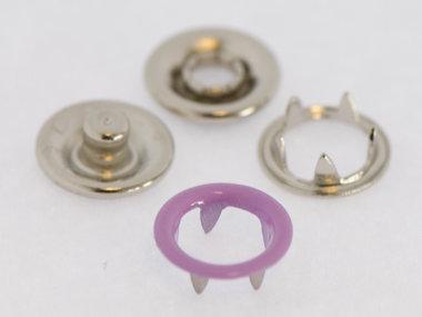 Babydrukker lila 9 mm, type #122 (ca. 100 stuks)