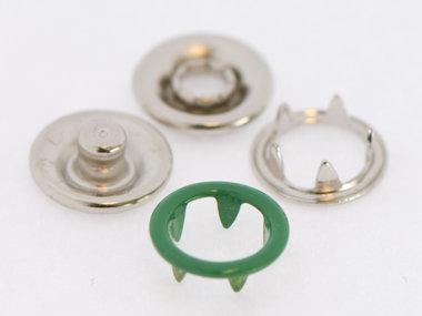 Babydrukker groen 9 mm, type #122 (ca. 100 stuks)